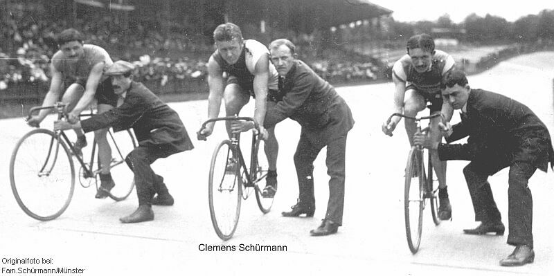 Schürmann, 1913 in Paris am Start